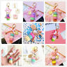 Fresh Alloy Keyring Macaroon Keychain Key Pendant Car Handbag Charm Accessories