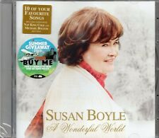 Susan Boyle - A Wonderful World (2016 CD) Feat. Nat King Cole & Michael Bolton