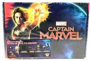"""NEW Marvel Captain MARVEL Collector Box Set Accessories """"What's Inside"""" Sealed"""