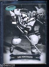 Lou Fontinato signed autographed Auto 2006-07 Parkhurst #4 Rangers