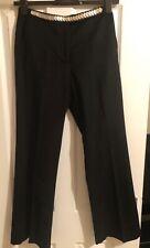 Nicole Farhi ladies black wool/cashmere trousers Size UK8