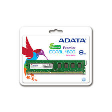 ADATA DIMM 8GB DDR3L 1600MHz PC3-12800 Desktop PC RAM (Low Voltage)