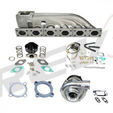 REV9 Per 92-05 BMW E36 E46 323 325 328 330 GT30 Turbo Set Up Kit 350+