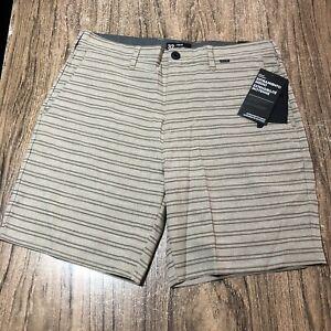 Hurley Phantom Gibbs Hybrid Surf Mens Board Shorts Size 32 NWT retail $65 #53252
