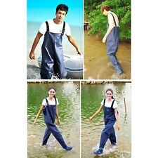 Adjustable Waterproof Overall Chest Waders Fishing Hunting With Wading Boots
