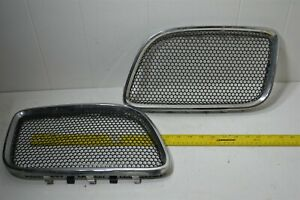 06-09 Torrent - Upper Grille Trim & Grill Chrome & Honey Comb Set Left Right OEM