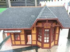 """G Gauge/G Scale Station Building """"Grizzly Flats"""" Suitable For Garden Railway"""