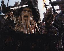 "'BILL NIGHY' - 'Davey Jones' in ""Pirates of The Caribbean"" Signed 8x10 photo COA"