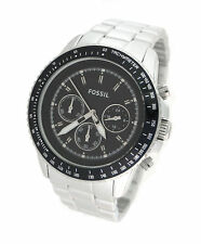 Fossil Men's Stella Large Aluminum Watch Silver Tone CH2751