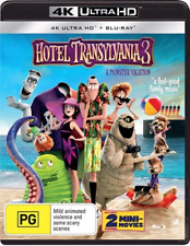 Hotel Transylvania 3 a Monster Vacation 4k Ultra HD Blu-ray Region B