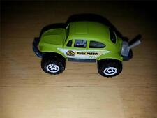 New 2008 Matchbox Volkswagen Beetle 4x4 Matte Pea Green 5 Pack Only VW Bug