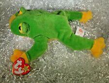 Smoochy the Frog Beanie Baby*Errors* Rare* 1997 -Retired- Mwmt #184-3