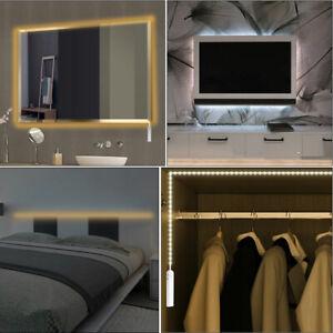 LED Strip Lights Motion Sensor Bed Closet Lamp Rope Automatic Shut Off Timer Hot