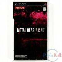 Jeu Metal Gear Solid : Acid / Ac!d [JAP] PlayStation Portable PSP / NEUF Blister
