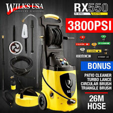 Electric Pressure Washer - 3800PSI Power Induction Patio Jet - Wilks-USA RX550