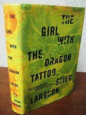 1st/1st Printing GIRL WITH THE DRAGON TATTOO Stieg Larsson RARE Modern THRILLER