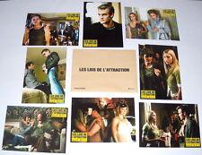 RULES OF ATTRACTiON Van Der Beek Sossamon Somerhalder Biel 8 FRENCH LOBBY CARDs