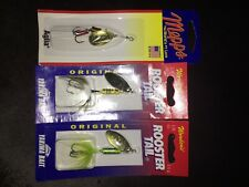 Mepps 1/8 oz Gold Aglia Spinner Spinnerbait Fishing lures roostertail Yakimabait
