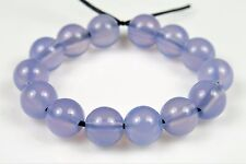 Finest Quality Natural Lavender Chalcedony Round Bead - 6 mm - 14 beads - 5187A