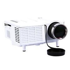 Mini HD LED Projector Home Cinema Theater VGA USB SD AV HDMI Proyector Mar Sale