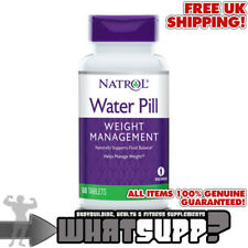 NATROL Water Pill x60 tablets Naturally supports fluid balance WEIGHT MANAGEMENT