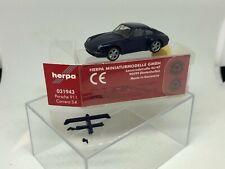 Herpa 1:87 Porsche 911 Carrera S4 Blue