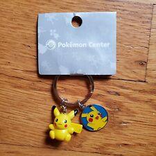 Pokemon Keyring from Pokémon Center - Pikachu Keyring - New on card from 2009