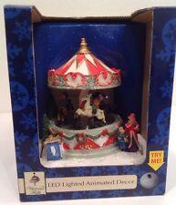 Victoria Falls Christmas Winter Holiday Village Carousel