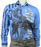 punk Clash Joe Strummer  blue shirt by Sexy Hooligans