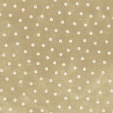 Shadow Play  Woolies  Flannel - Tan White Dot  #F18506-T