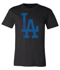 Los Angeles Dodgers LA Logo Distressed Vintage logo T-shirt 6 Sizes S-3XL!!