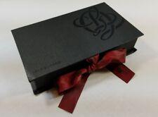 Louis Quatorze Women's Wallet Black Leather Purse