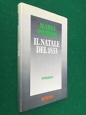 Mario POMILIO - IL NATALE DEL 1833 , Ed. Rusconi (1983) Libro Cop.Rigida