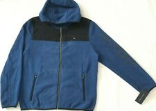 NWT Mens Tommy Hilfiger FullZip Hooded Performance Fleece...