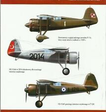 PLZ. P.11 & PZL P.24 POLISH FIGHTER PLANES