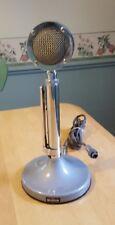 Astatic UGB Microphone NON-Powered 4-Pin CB Ham Mic & Stand D-104