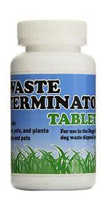 Doggie Dooley Waste Terminator Convenient Tablets White Disposal Solid Liquid