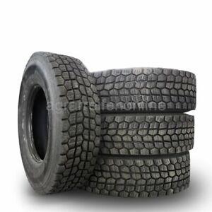 4 Stück 315/70 R 22.5 TL (152/148M) LKW Reifen Antriebsachse Gebrauchtreifen