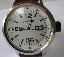 Unlisted Quartz Watch with New Rubber bracelet