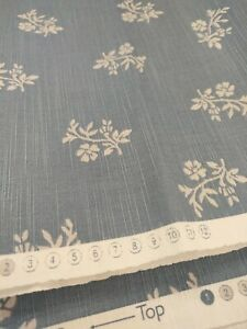 Mireille Print Cotton Fabric French Grey  2200mm
