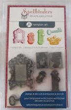 Spellbinders Shapeabilities Hampton Art 7 Stamp 5 Die Royal Affair Set ICO183