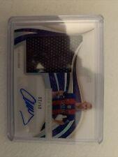 Immaculate Soccer Javier Mascherano Superior Patch Autograph 02/50 Fc Barcelona