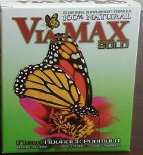 VIA MAX GOLD HERBAL Enhancer Supplement 20 Pills USA 3000 series Free Shipping