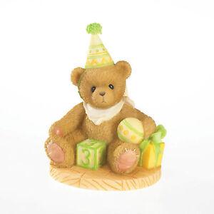 Cherished Teddies Through The Years 'Free to be Three!' Age 3 4020574