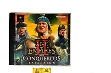 AOE Age Of Empires II 2 Conquerors Expansion PC Game RTS Strategy Jewel Case