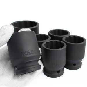 """3/4"""" Drive 12 Point Deep Impact Socket 17mm - 50mm Heavy Duty"""