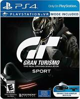 Gran Turismo Sport Limited Edition Steelbook ( Sony Playstation 4/ PS4 )