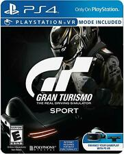 Gran Turismo Sport Limited Edition Steelbook (Sony Playstation 4/ Ps4) Brand New