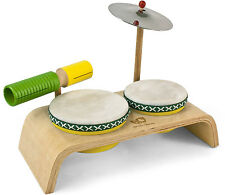 BEGINNER  DRUM SET #3750~ Fun New ECO Friendly Musical LINE from HOHNER KIDS ~