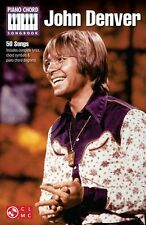 John Denver Piano Chord Songbook Play Leaving on a Jet Plane Music Book